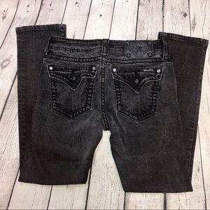 Miss Me Black Skinny Jeans size 28